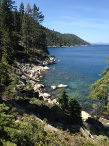 Views from the Rubicon Trail in DL Bliss State Park