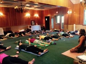 Relax while practicing Yoga Nidra