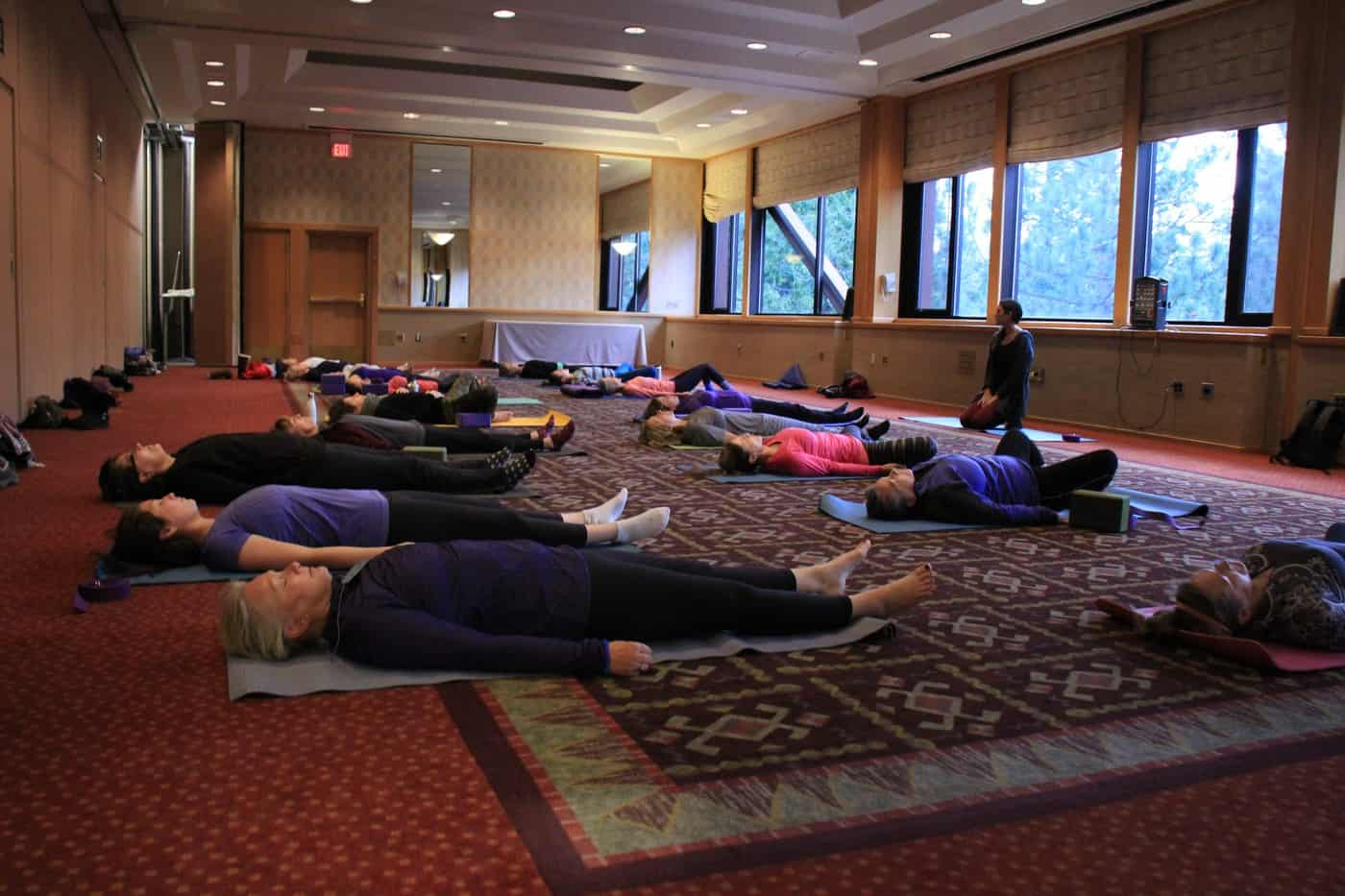Group Practicing Yoga Nidra Sessions