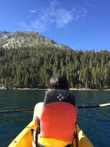 Kayak Emerald Bay